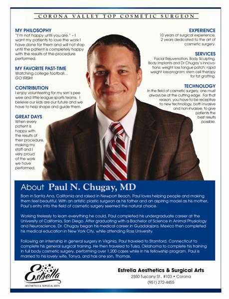 About Dr. Paul Chugay, MD
